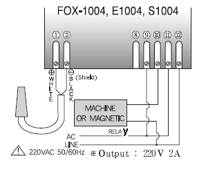 Sơ đồ đấu dây Fox-1004