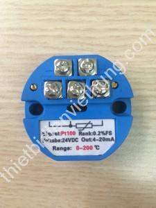 Bộ chuyển đổi tín hiệu can Pt100 (0-200oC)