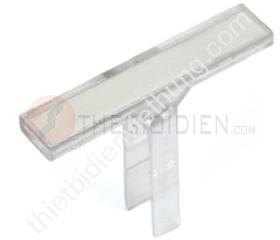 Miếng gắn nhãn bản nhỏ, lắp trên miếng chặn cuối E/JUK- JKLM-A