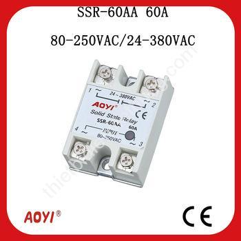 Relay bán dẫn SSR-60AA